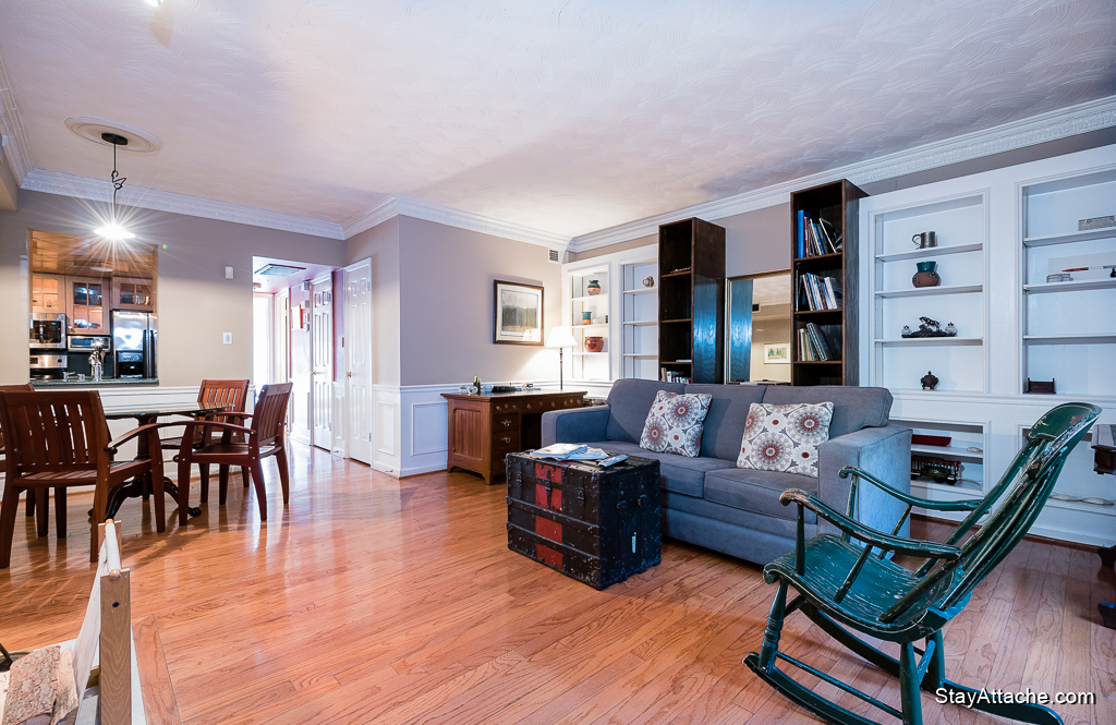 furnished 1 bedroom near Dupont Metro