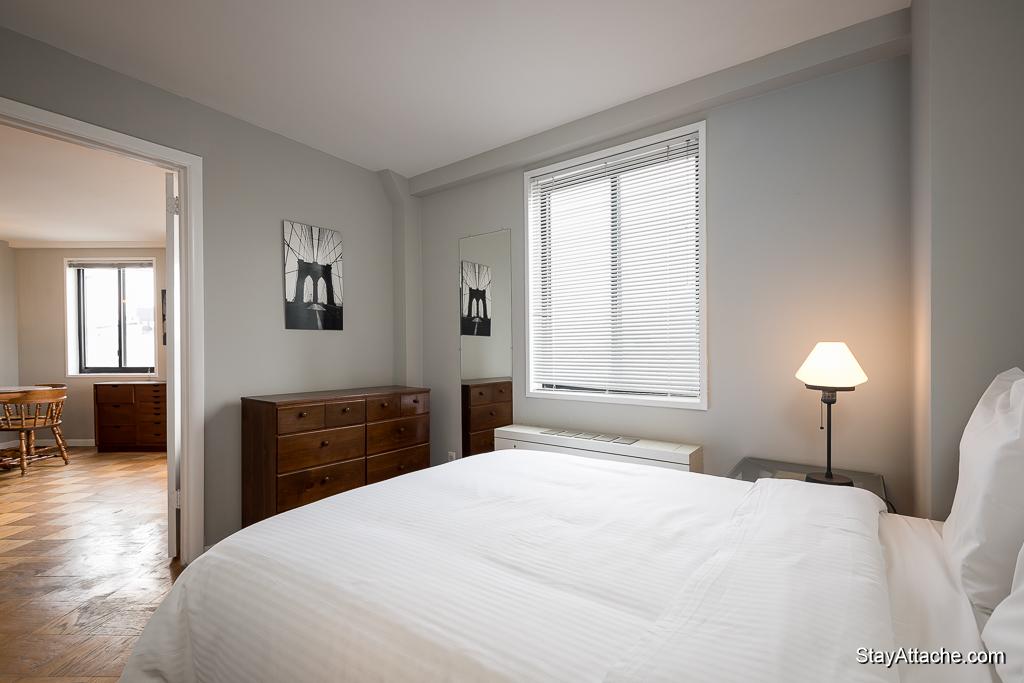 Furnished 1 bedroom in Dupont Circle - Bedroom