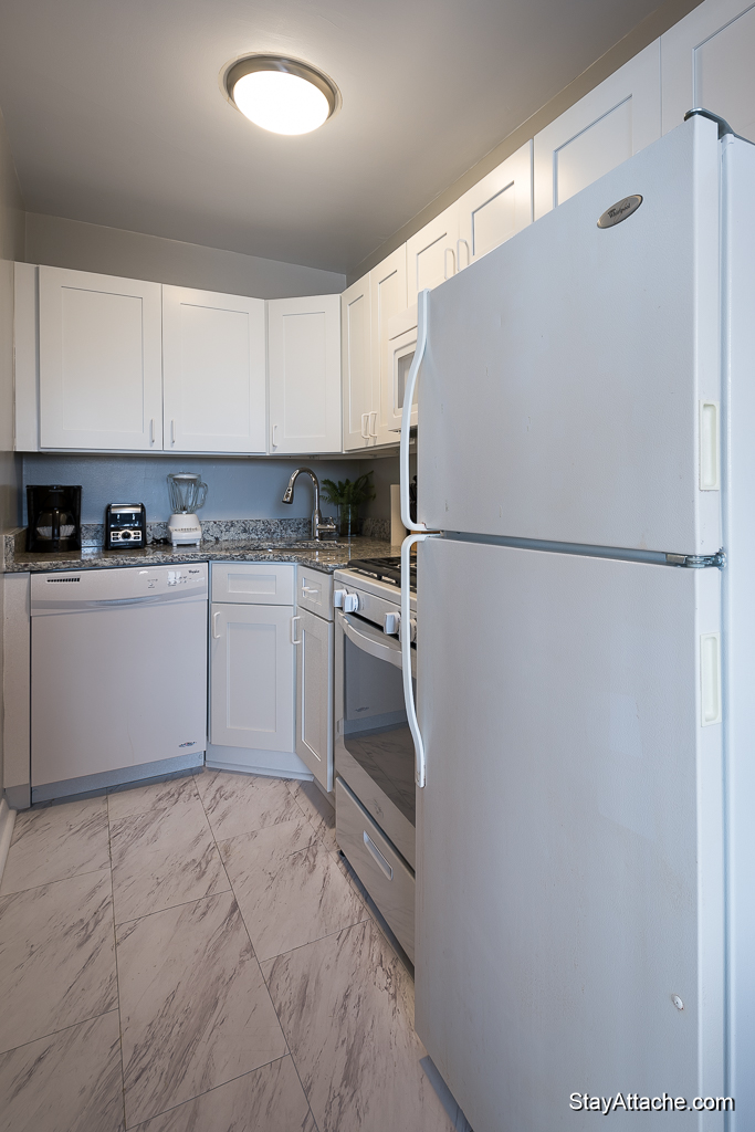 Furnished 1 bedroom in Dupont Circle - Kitchen