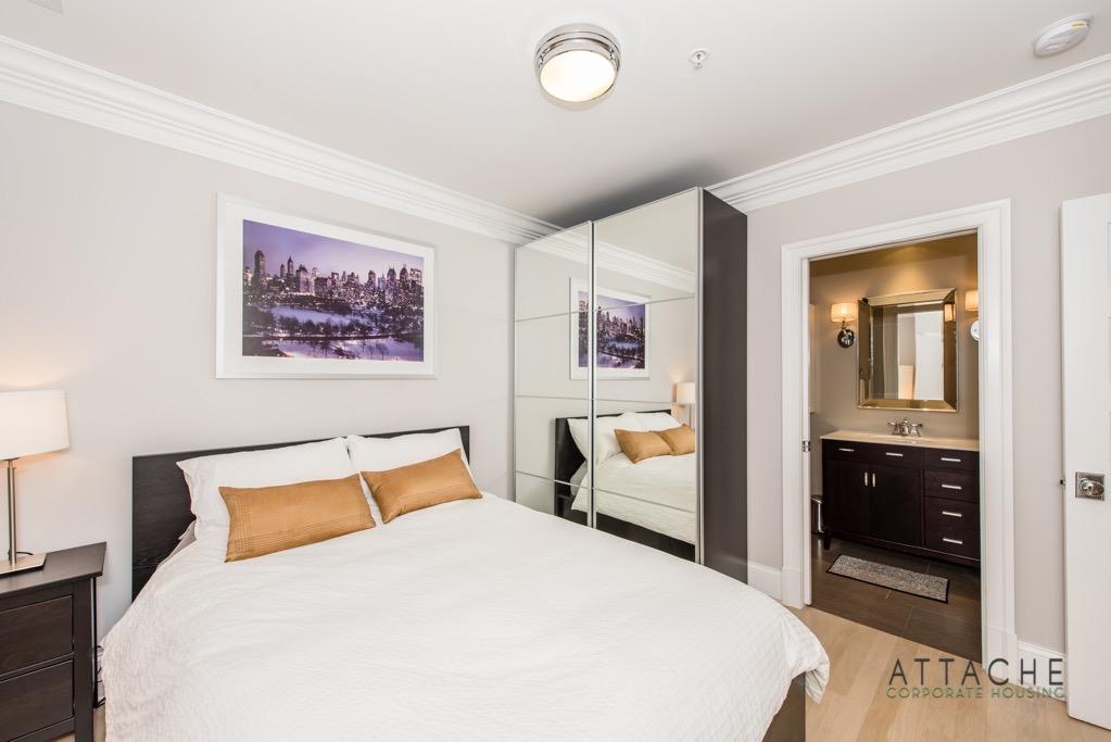 Furnished 2 bedroom - Bedroom #1