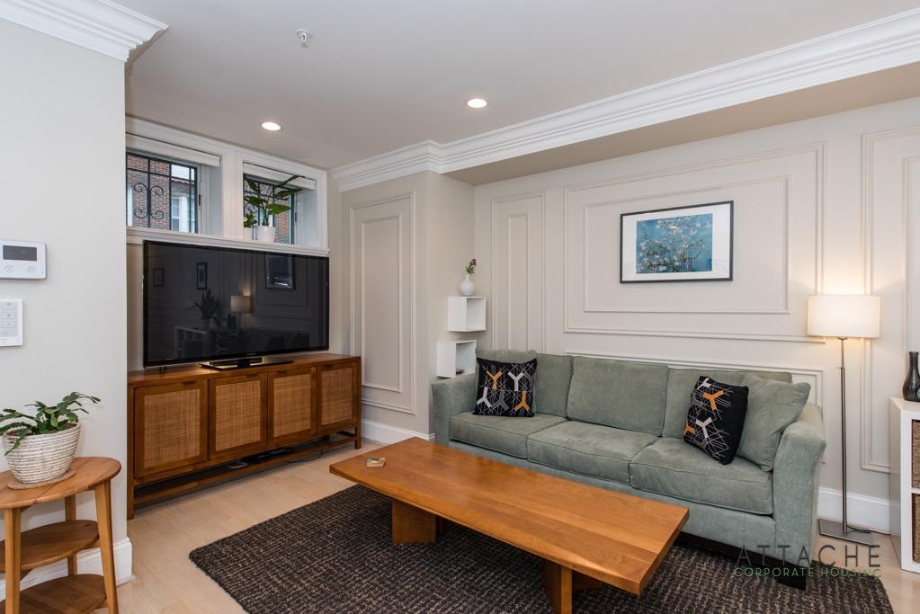 Furnished 2 bedroom - Living Room