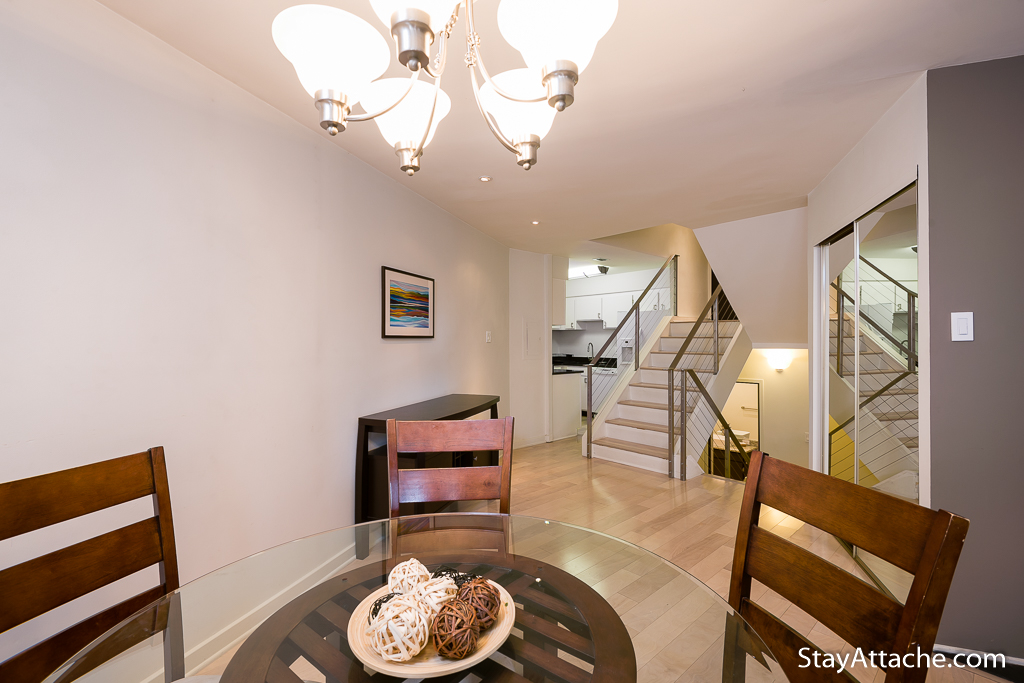 Serviced apartments in Georgetown - Dining Tablr