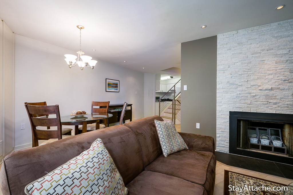 Serviced apartments in Georgetown - Living Room