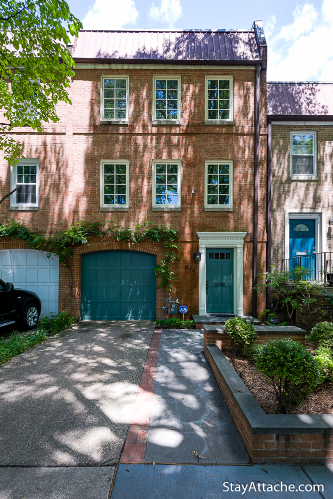 2-bedroom townhouse on Southwest Waterfront