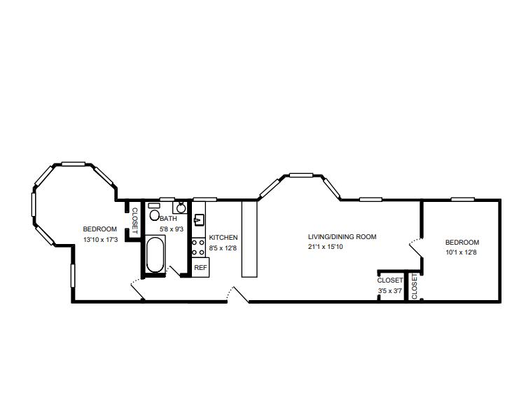 Floor Plant for Unit 1
