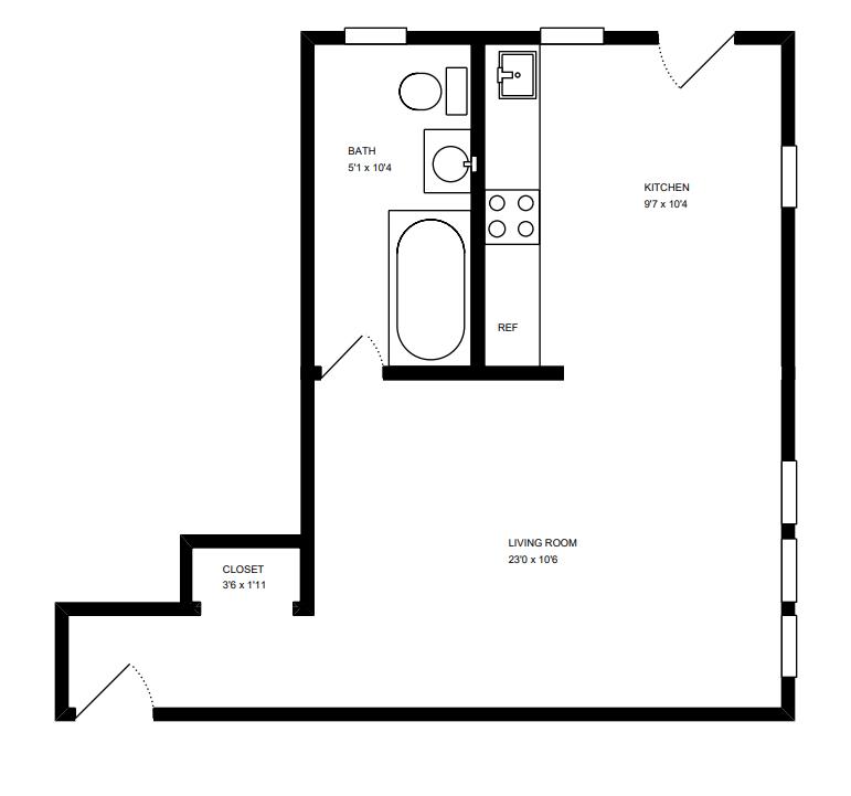 Floor Plant for Unit B 3