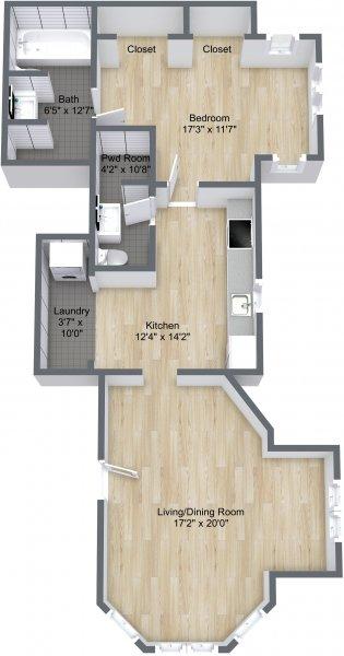 1101 P St Floor Plan